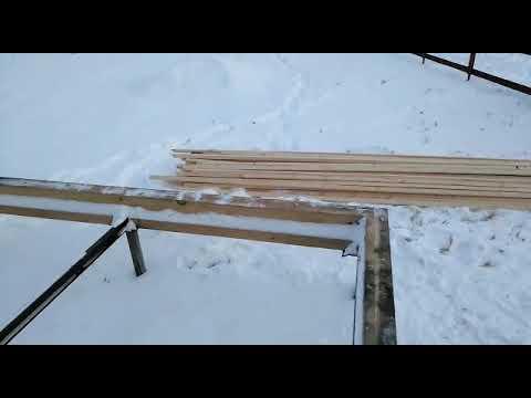 Строим дом из бруса в Московской области