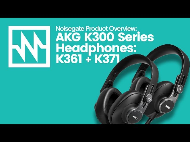 First Look at the Just Announced AKG K300 Series of Foldable Studio Headphones