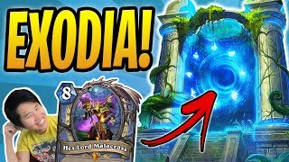SKIPPING A TURN AND STILL WINNING?! | Exodia Mage /w Malacrass | Rastakhan