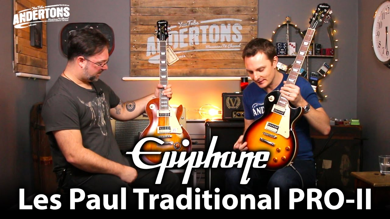 Epiphone Les Paul Traditional Pro Ii Whats New On Version 2 100 Standard Strat Wiring Mod Youtube