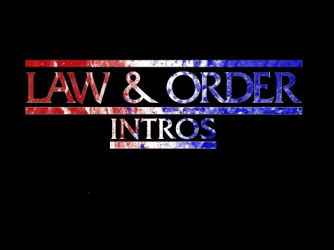 All Law and Order Intros