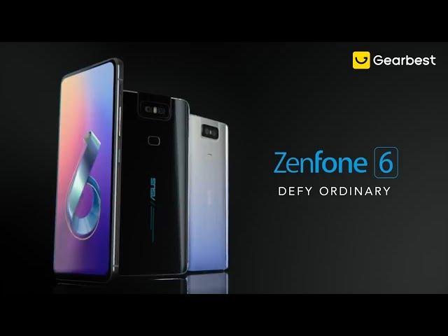 ASUS Zenfone 6 6 4 inch 6GB + 128GB Full-screen Global Version Smartphone