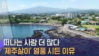 이젠 떠나는 사람 더 많다…'제주살이' 열풍 시든 이유 / SBS