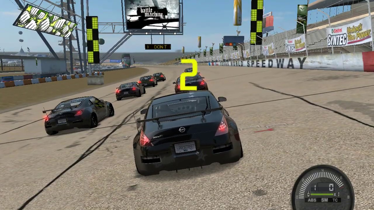 Download Need for Speed ProStreet: Challenge Texas #1 Nissan 350Z Grip Club Circuit | Gaming