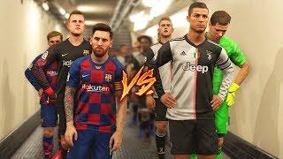 JUVENTUS 2020 VS FC BARCELONA 2020   RONALDO VS MESSI
