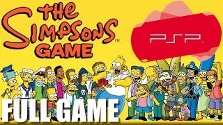 The Simpsons Game [PSP/PS2] - Full Game Walkthrough (No Commentary Longplay)