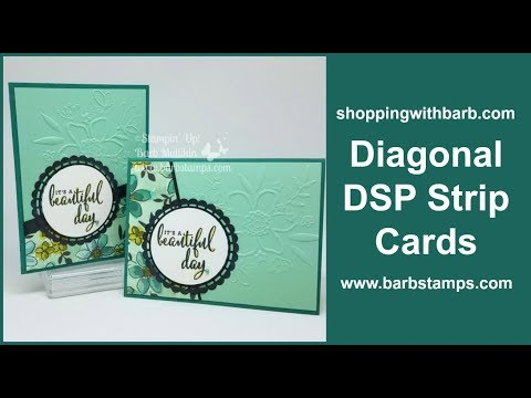 Diagonal Strips of Designer Series Paper - Share What You Love Gotta Have it All Bundle