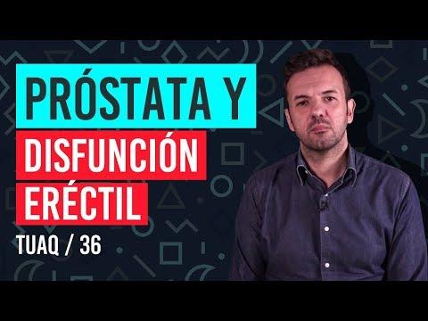 disminución de la prostatitis en la erección