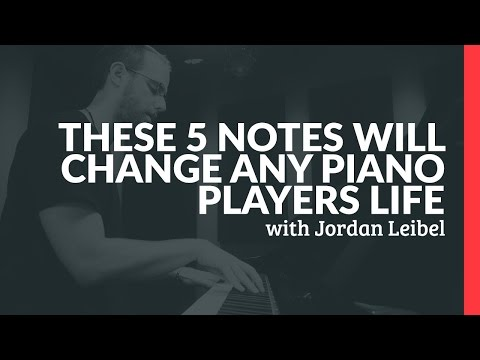 These 5 Notes Will Change Any Piano Players Life  Piano Lessons Pianote