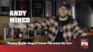 Andy Mineo - Playboy Mag On Stage & Female Fan Licked My Face (247HH Wild Tour Stories)