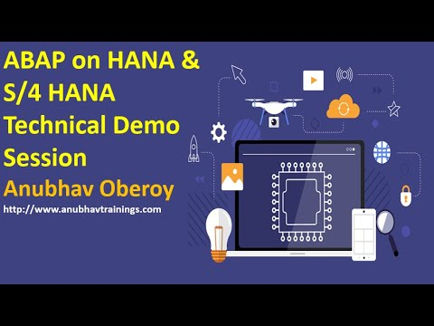 ABAP on HANA Demo Session | S/4HANA Technical training