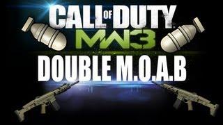 Český DOUBLE M.O.A.B gameplay   Cod Mw3   TÉMA: Svátek!  55:7:1   ACR