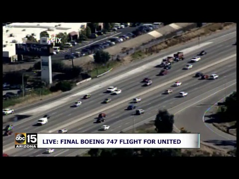 LIVE: FINAL FLIGHT! United's last flight on a Boeing 747 departs San Francisco for Hawai'i