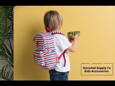 2e5c90f39e2 Herschel Supply Co Kids Accessories    www.fashionkidzz.com - YouTube