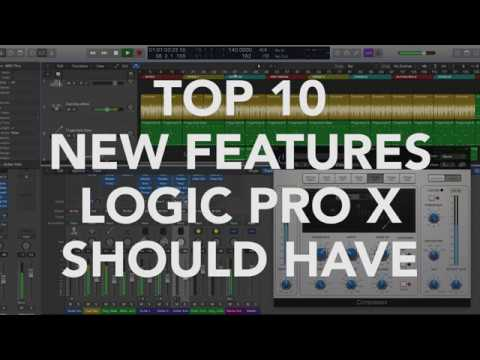 TOP 10 New Features LOGIC PRO X SHOULD HAVE