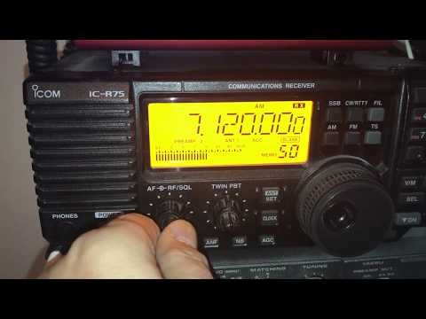 Radio Hargeysa 7120 kHz, Somaliland, first indoor reception for 18 months