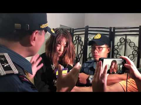 Eleazar confronts Chinese national who threw taho at cop