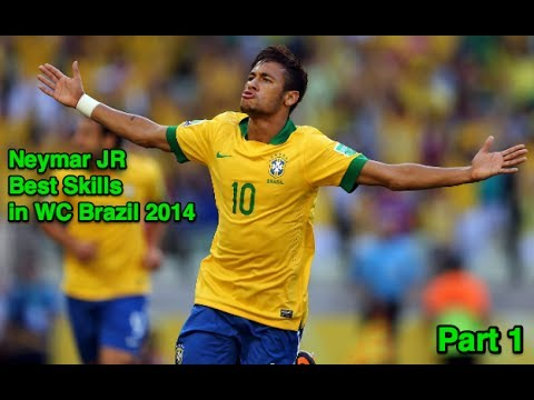 Neymar JR - World Cup Brazil 2014 Skills and Goals - HD