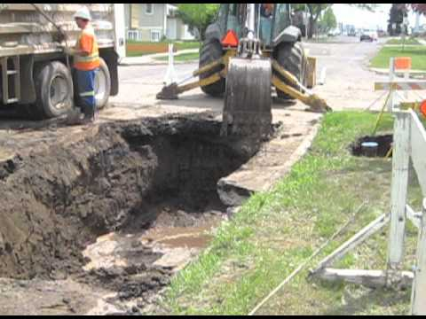 Water Main Repair Pt 1