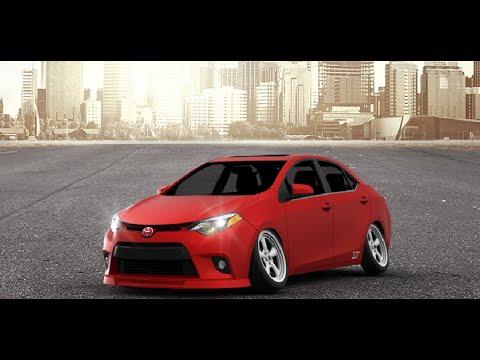 3D TUNİNG - Toyota Corolla Full Customized + Camber - YouTube