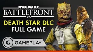 25 Minutes of Death Star Battle Station Mode - Star Wars Battlefront DLC Gameplay