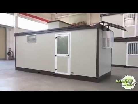 видео: Устройство контейнерной мини-бойни для овец