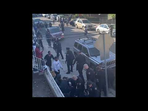 Jersey City break up fight on Bostwick Avenue