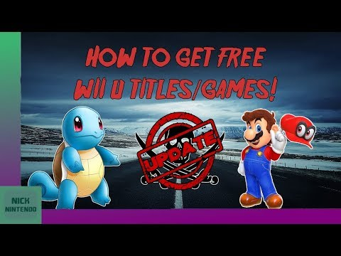 [UPDATED!] How To GET Free Wii U Games! [5.5.3] [2019] [FREESHOP]