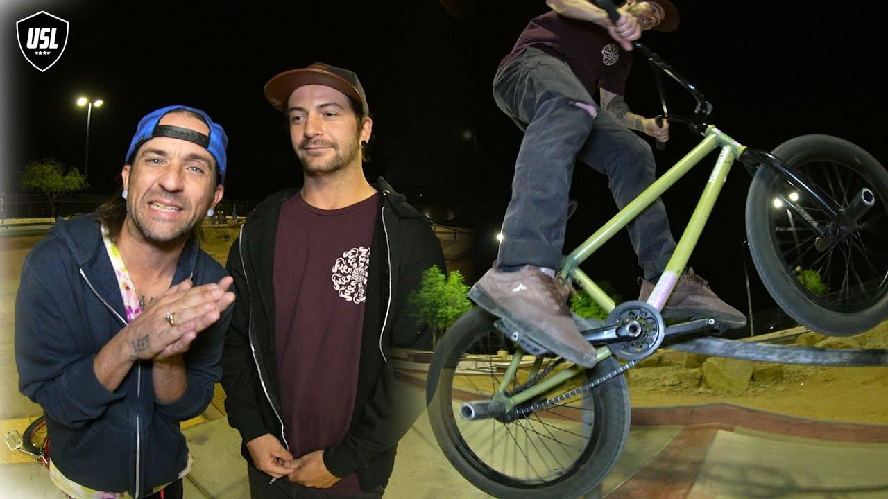 BMX - MATT CLOSSON & CATFISH BIKE DICE CHALLENGE