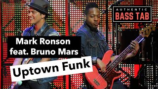 Mark Ronson Uptown Funk Authentic Bass Cover TAB.mp3