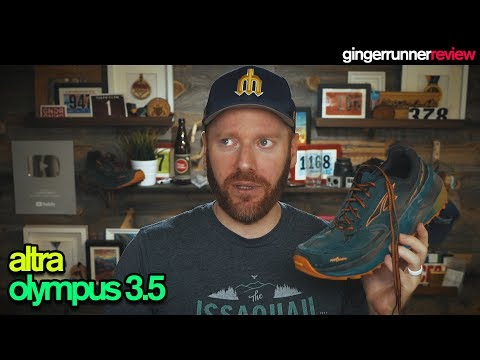 ALTRA OLYMPUS 3.5 REVIEW | The Ginger Runner