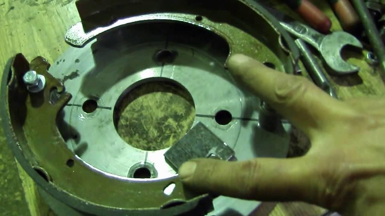 Центробежное сцепление из тормозного барабана своими руками фото 122