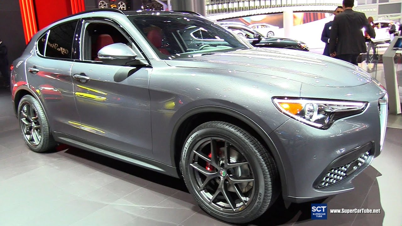 2018 alfa romeo stelvio q4 exterior and interior walkaround 2017 new york auto show youtube. Black Bedroom Furniture Sets. Home Design Ideas