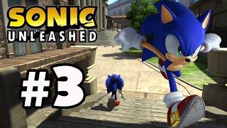 Sonic Unleashed - Parte 3 - Xbox360 - (En Directo)