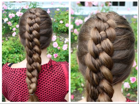 Dutch 4 Strand Braid Tutorial 2020