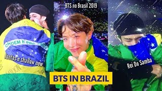 BTS No Brasil Falando Em Português, Sambando E Mais   Show Do BTS Em São Paulo 25/05