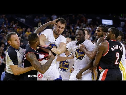 NBA Funny Fights Semptemper 2017 And Funny Moments
