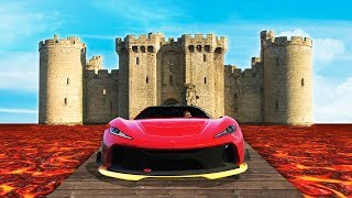CRAZY ESCAPE THE CASTLE RACE! (GTA 5 Funny Moments)