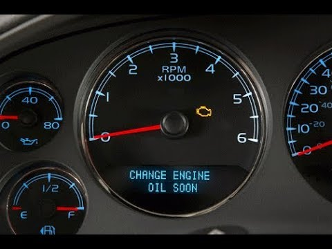 07 Yukon Denali Oil Change