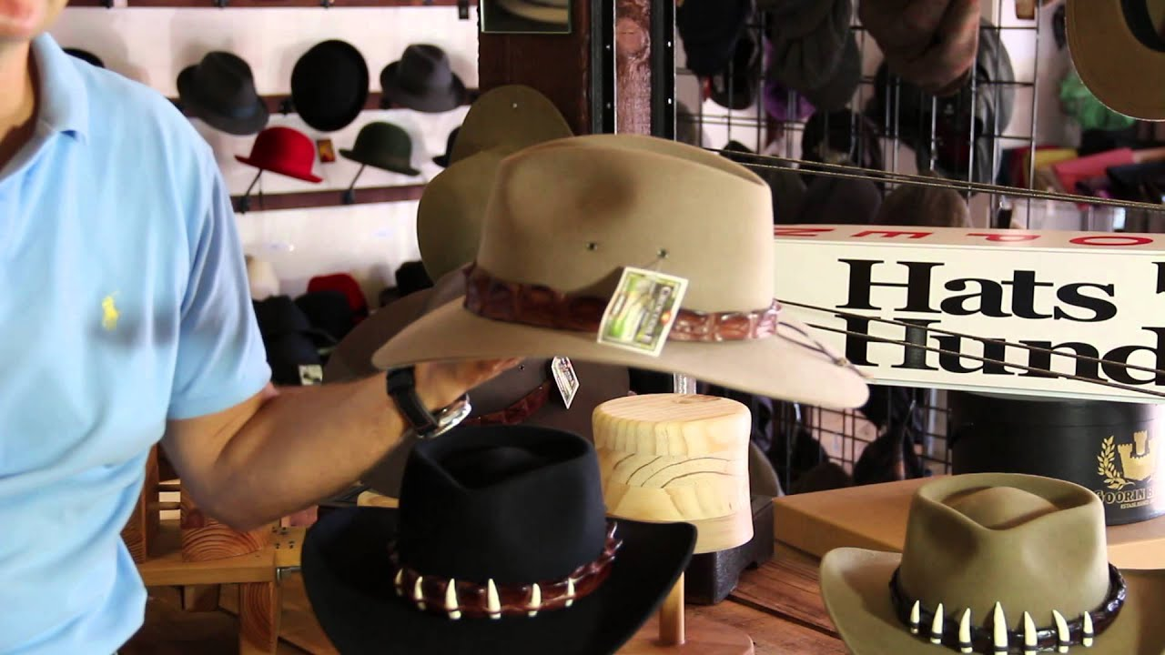 762b7aec75c Akubra Croc Hats Hat Review- Hats By The Hundred - YouTube