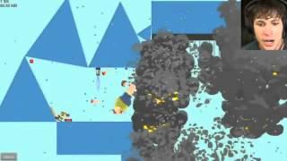 Game Review Grandpa Cheats Death Happy Wheels Battle Hard Game