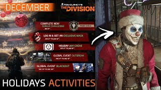 THE DIVISION SPECIAL HOLIDAY EVENT | Next Shield, Exclusive mask, GE Events & Holiday Cache