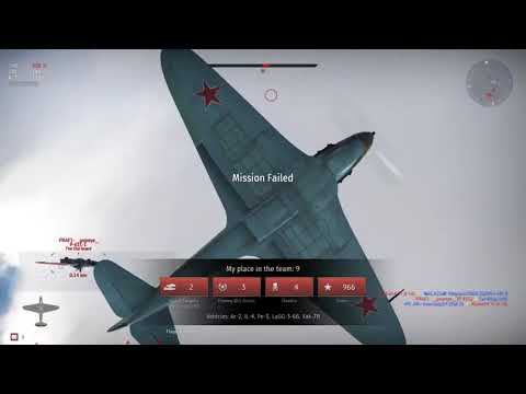 War Thunder Russian air control part 4 air domination with bombs