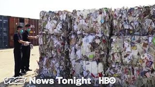 China Garbage Ban & Blackwater Massacre Retrial | VICE News Tonight Full Episode (HBO)