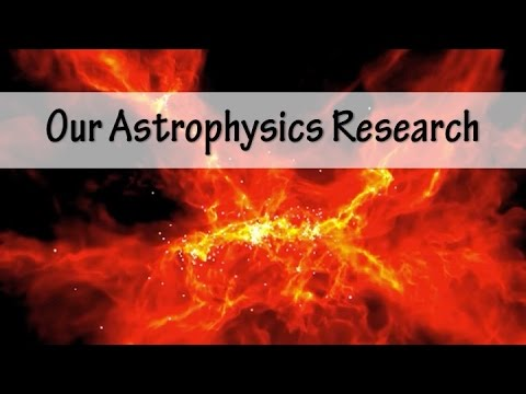 Our Astrophysics Research