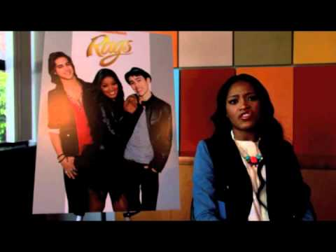 RAGS: Juicy Gossip with KEKE PALMER & MAX SCHNEIDER! - YouTube