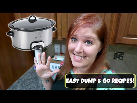 5 EASY DUMP & GO CROCKPOT RECIPES | COMFORTING CROCKPOT RECIPES PERFECT FOR FALL