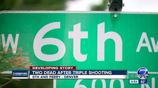 2 dead, 1 critically wounded in Denver shooting