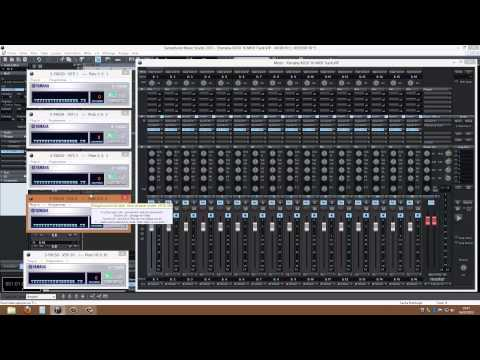 MAGIX Samplitude Music Studio 2013 play on multi Yamaha XG VSTi modules