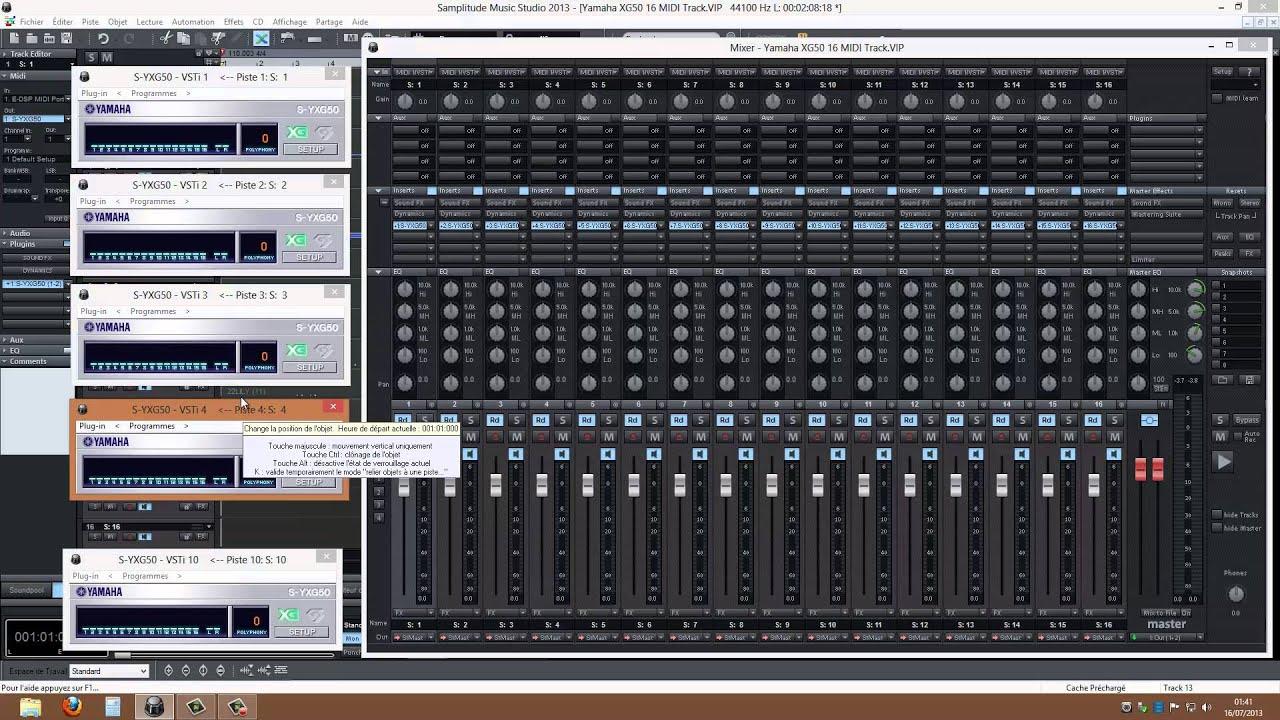 MAGIX Samplitude Music Studio Free Download